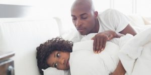 black-couple-having-intimacy-problems
