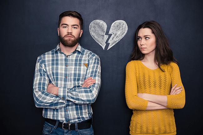 caucasian-couple-unhappy-with-broken-heart